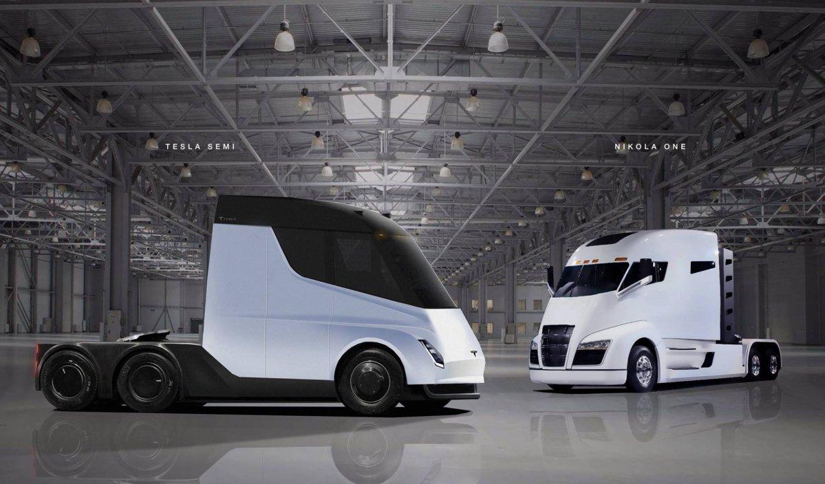 2018 tesla semi truck. simple truck teslasemirendering06 tesla semi truck with 2018 tesla semi