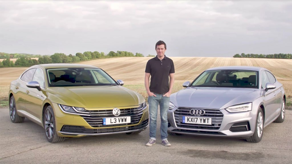 Which is better: VW Arteon or Audi A5 Sportback?