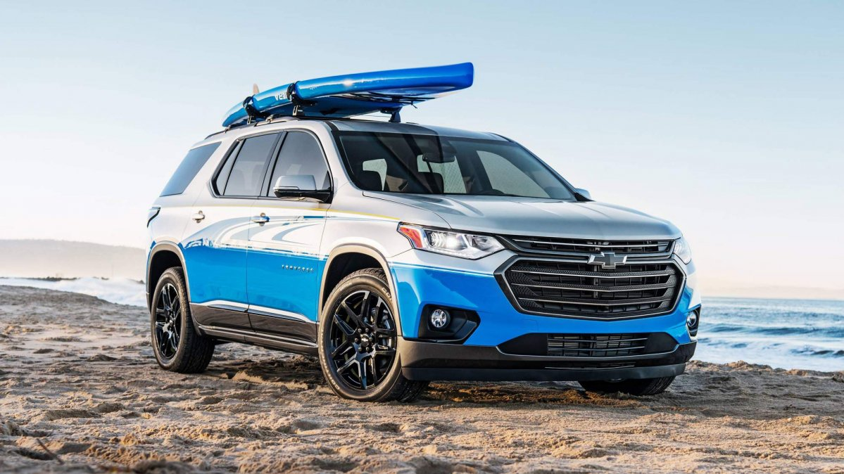 2018 Chevrolet Traverse Sup Concept Is For Stand Up Paddleboarders