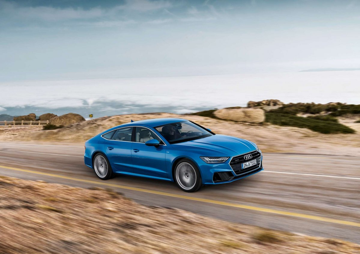 2018 audi a7 sportback official specs and pictures. Black Bedroom Furniture Sets. Home Design Ideas