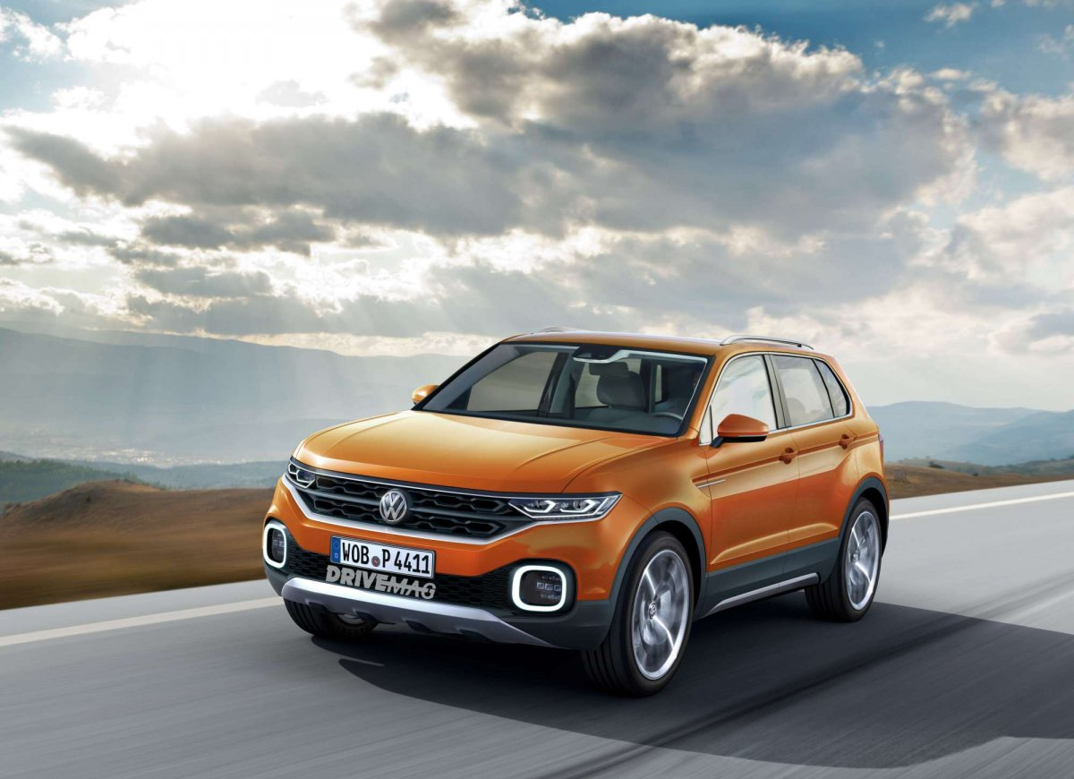 Ford Suv Models >> VW T-Cross: the jacked-up Polo to reportedly arrive in 2018