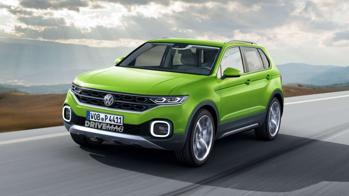 vw t cross the jacked up polo to reportedly arrive in 2018. Black Bedroom Furniture Sets. Home Design Ideas