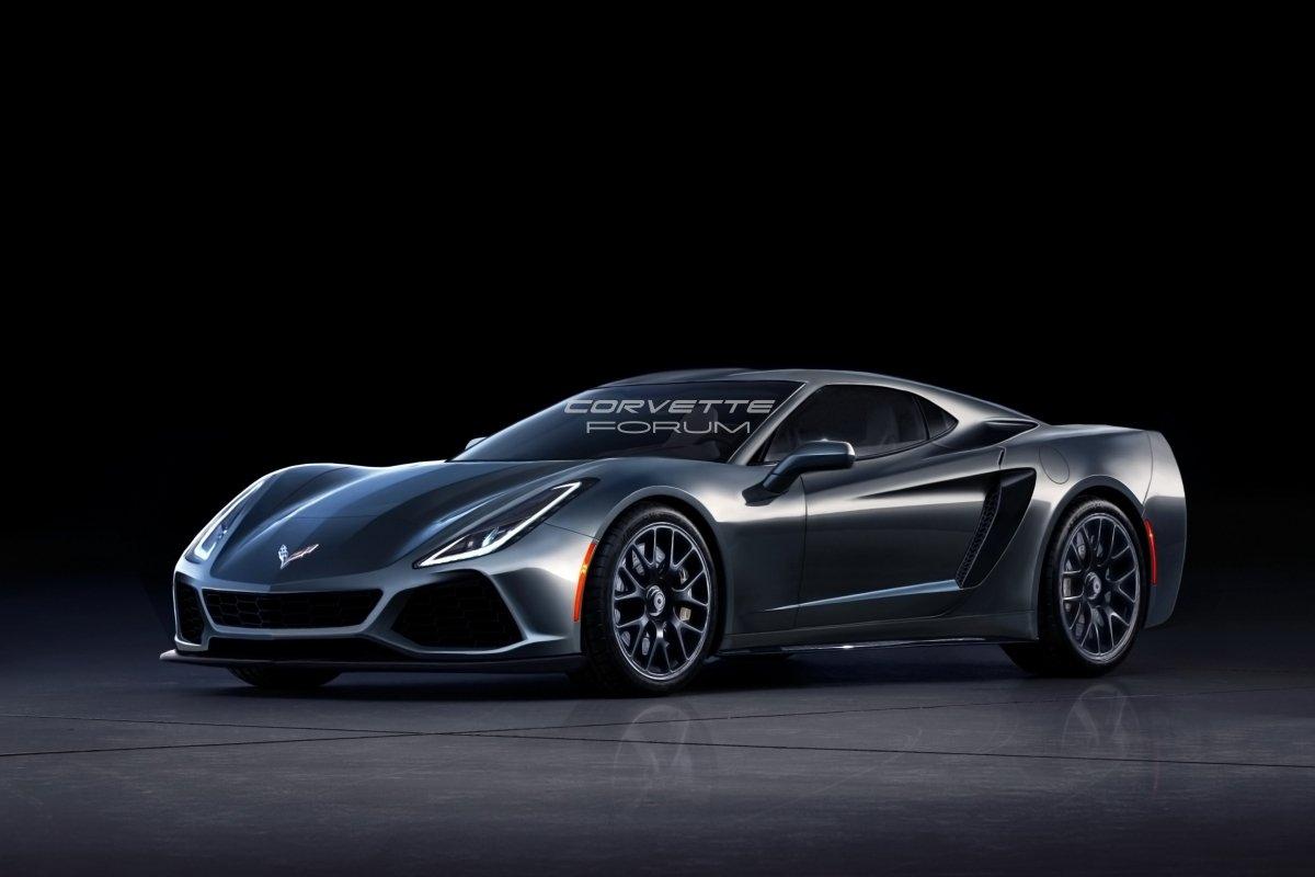C8 Zora Zr1 Mid Engine Corvette Rendering 1
