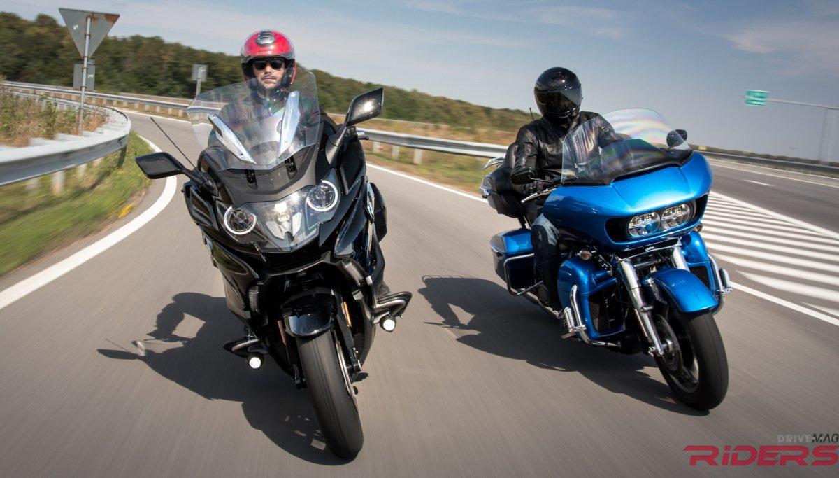 K1600B vs Harley Davidson7 - YouTube
