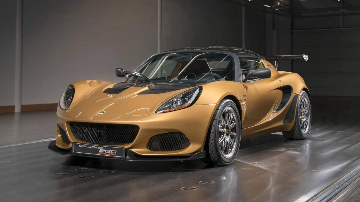 Race-car derived Lotus Elise Cup 260 has \