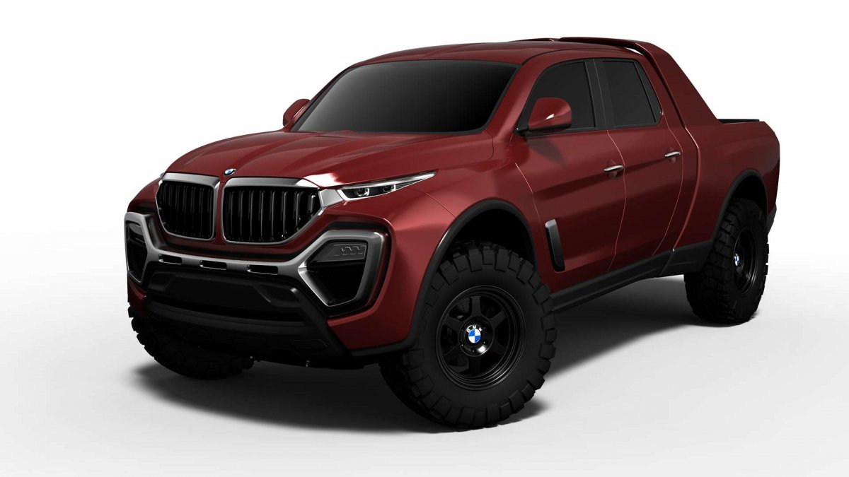 Bmw Pick Up Truck >> Let S Face It A Bmw Pickup Truck Rendering Was Waiting To Happen