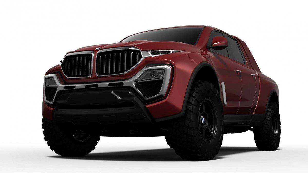 Let S Face It A Bmw Pickup Truck Rendering Was Waiting To Happen