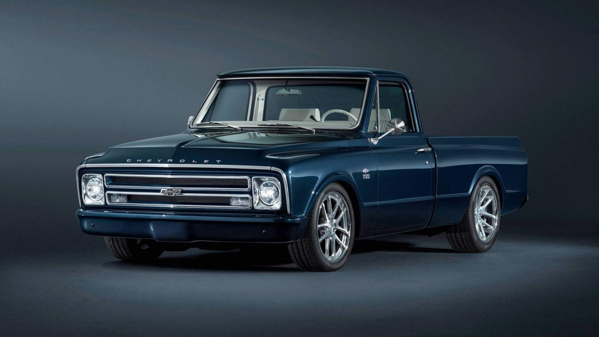 Truck chevy concept truck : Chevrolet builds 1967 C/10 custom pickup for SEMA