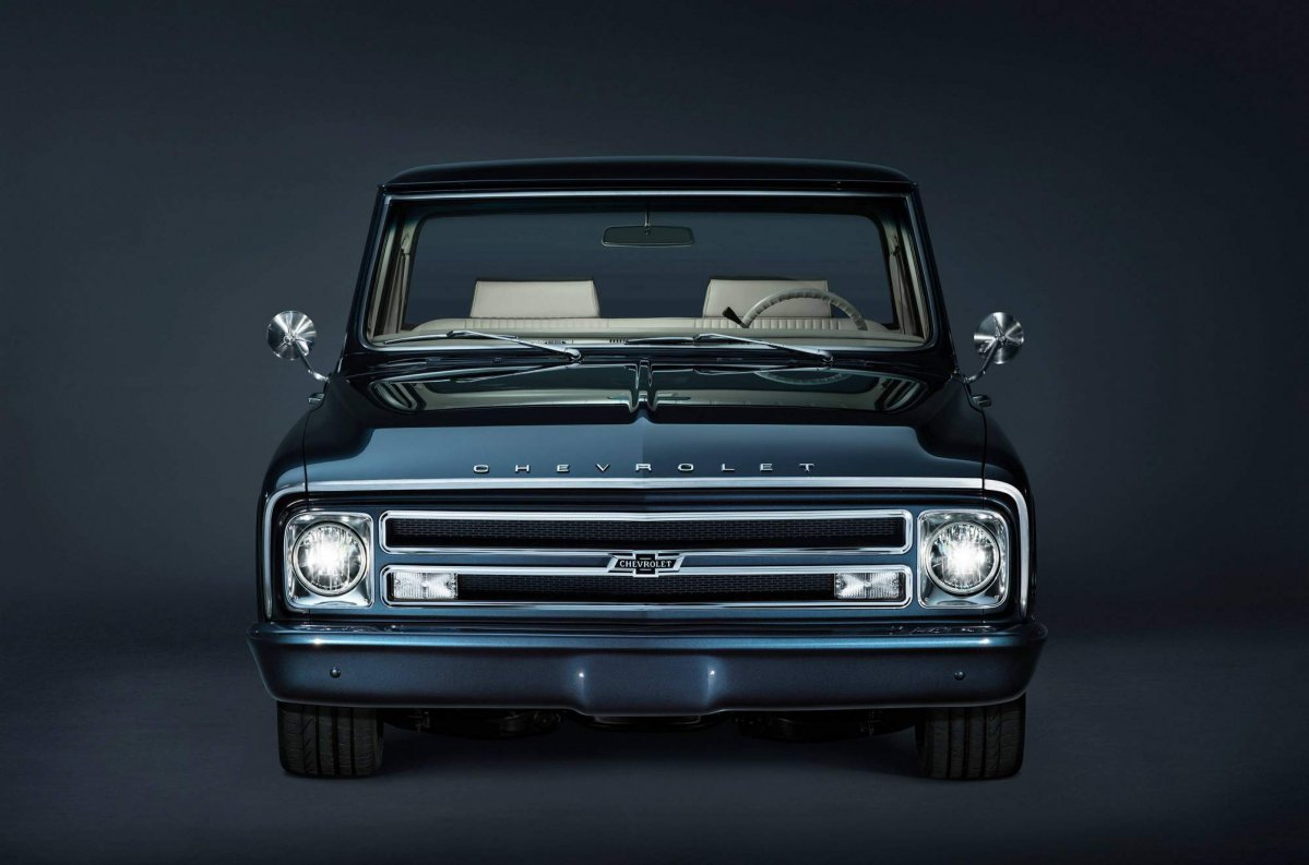 Truck chevy concept one truck : Chevrolet builds 1967 C/10 custom pickup for SEMA