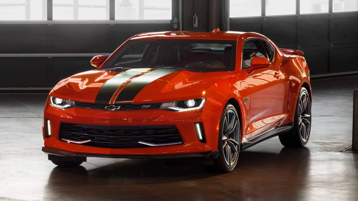 Chevrolet And Hot Wheels Launch Camaro 50th Anniversary Edition At Sema