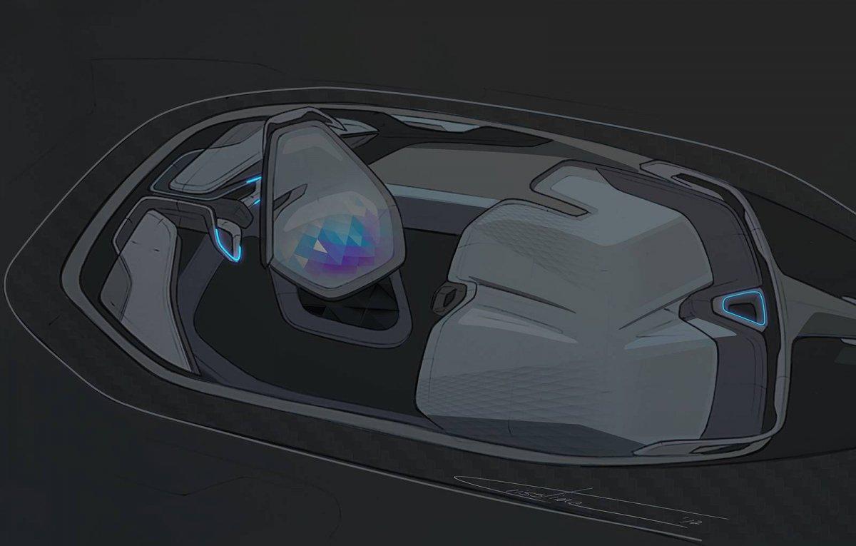Young Romanian Designer Envisions Futuristic Dacia Ef Vision 2050 Self Driving Concept