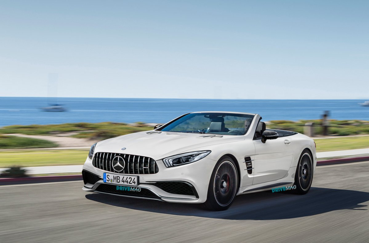 Mercedes Sl And Slc Will Look Like This