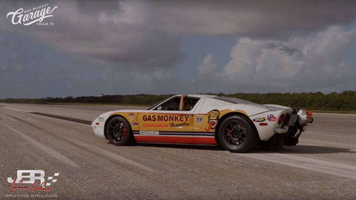Ford Gt Speed Record