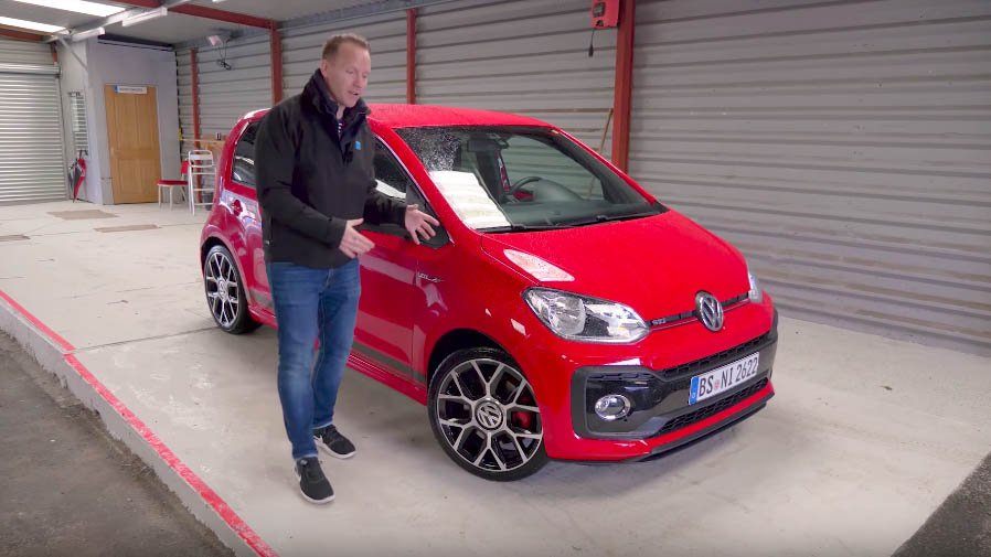 have a quick look around the new volkswagen up gti. Black Bedroom Furniture Sets. Home Design Ideas