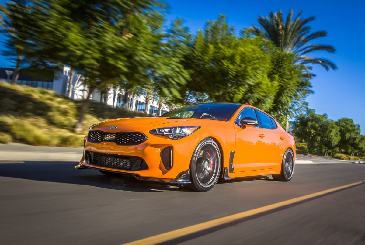 What Brands Does Volkswagen Own >> Kia at 2017 SEMA