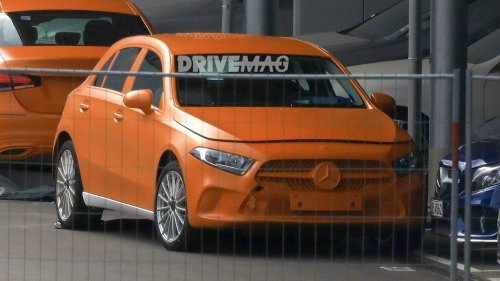 2018-Mercedes-A-Class-spied-without-camouflage-0