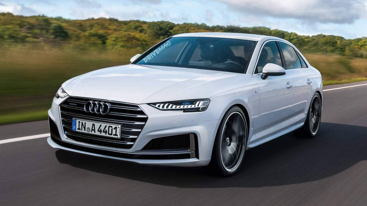 ... 2019 Audi A4 Sedan Facelift Rendering 0 ...