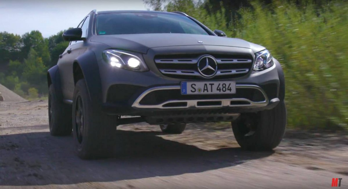 First Review Of The Mercedes Benz E 400 All Terrain