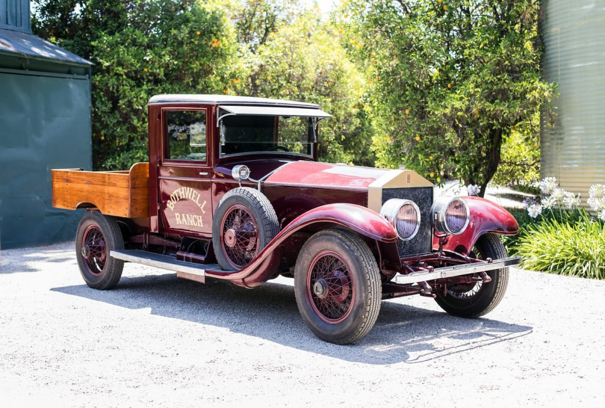 This 1926 Rolls Royce Silver Ghost Pickup Ute Headed For