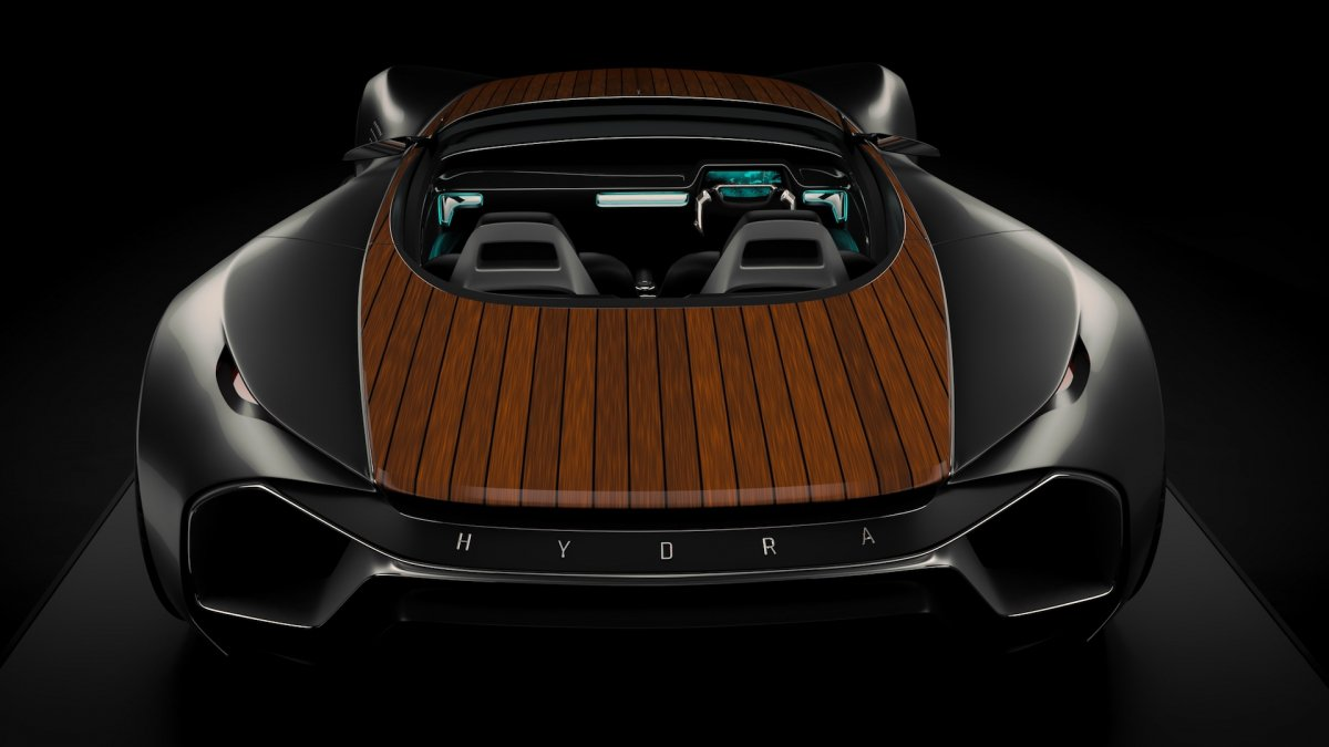 This 450 hp electric sports car wants to make wood panels for 450 hp electric motor