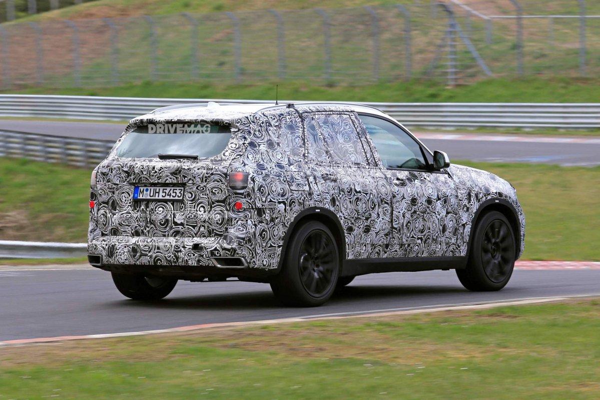 2018 BMW X5 G05 Spied 6