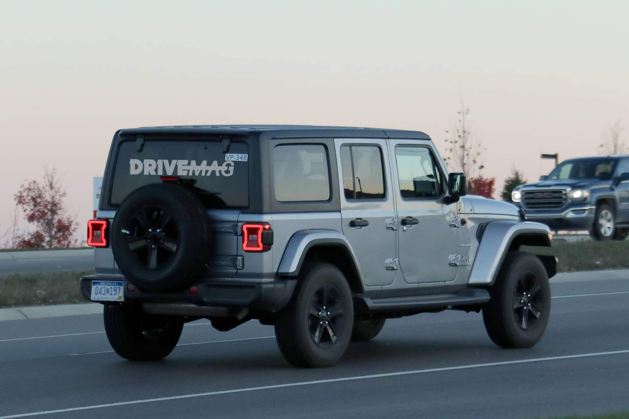 We spy the 2018 Jeep Wrangler lineup without any camouflage