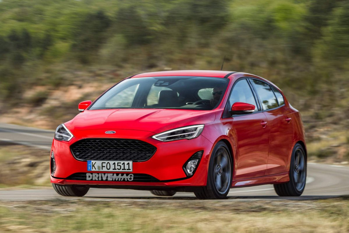 this 2019 ford focus rendering is based on the most recent. Black Bedroom Furniture Sets. Home Design Ideas
