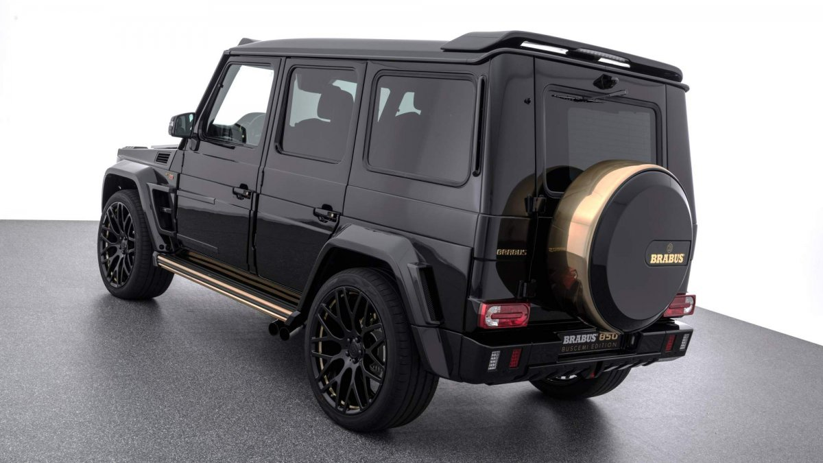 Brabus 850 Buscemi Edition debuts at Dubai Motor Show as a ...