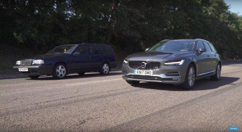 Volvo-850-T5-vs-Volvo-V90-D5-drag-race-1