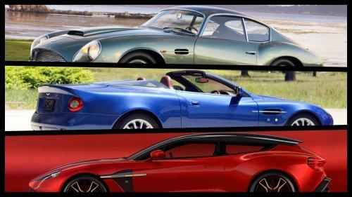 Zagato-bodied-Aston-Martin-models