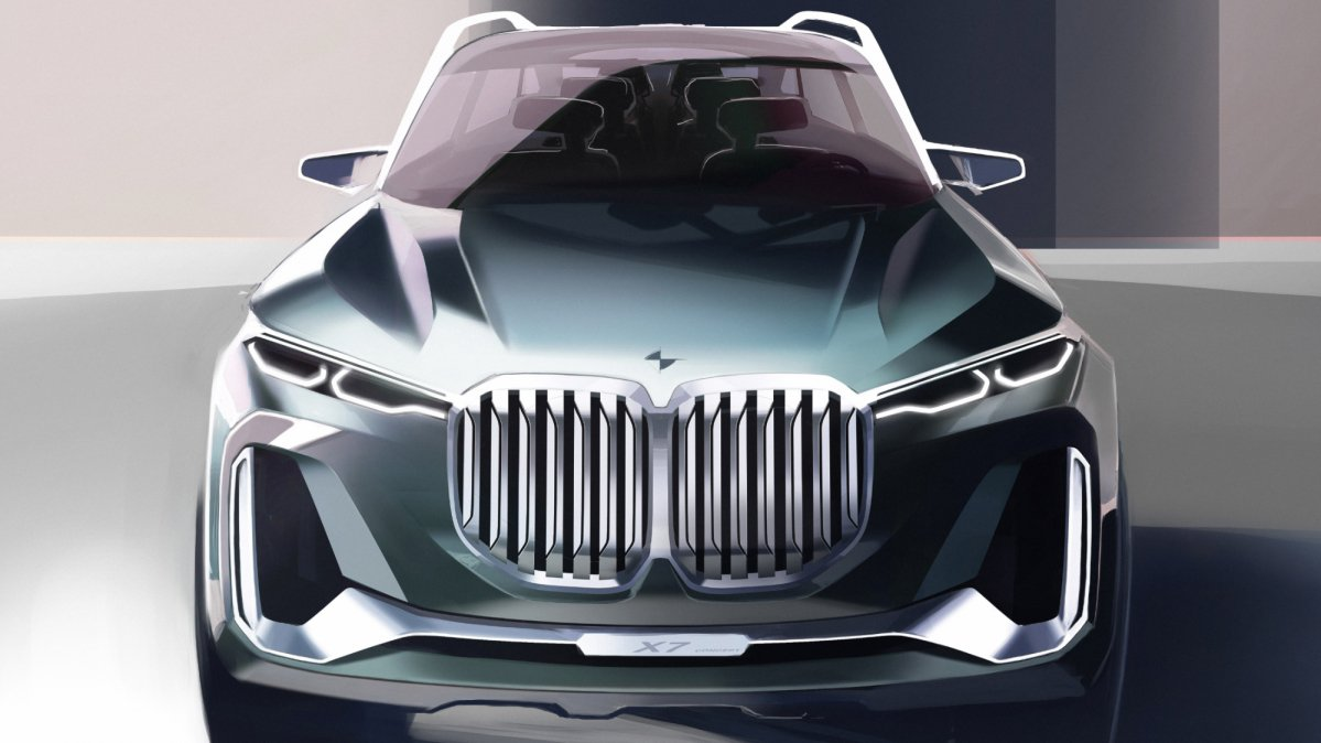 Here's what to expect from the 2018 BMW X7 SUV