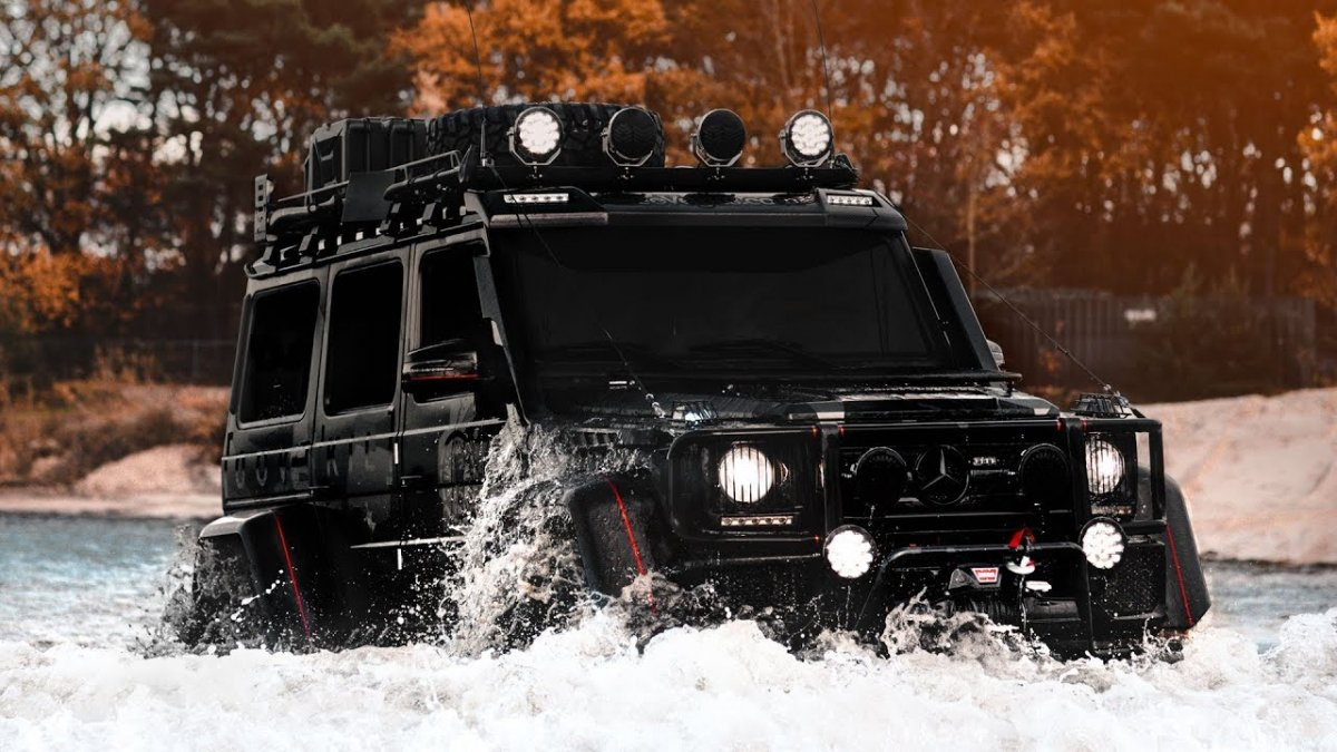 This Mercedes G500 4x4 Is Not Afraid To Get Dirty Makes