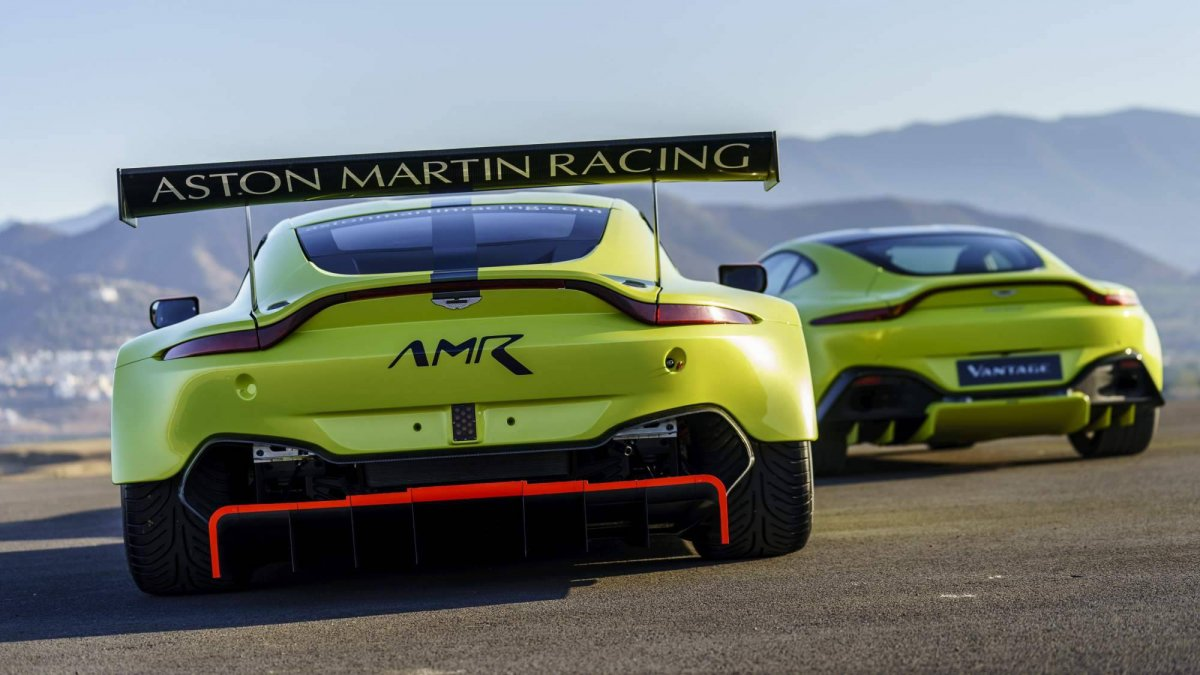 2018 Vantage GTE is Aston Martin Racing\'s new FIA WEC contender