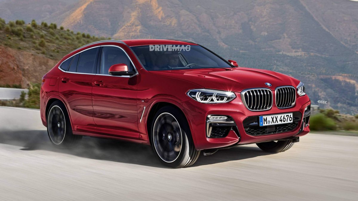 2018 BMW X4 Rendered 0