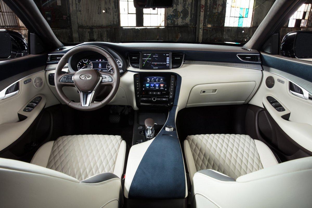 Infiniti Qx60 2016 >> 2019 Infiniti QX50 SUV goes live in LA with innovative engine, high h...