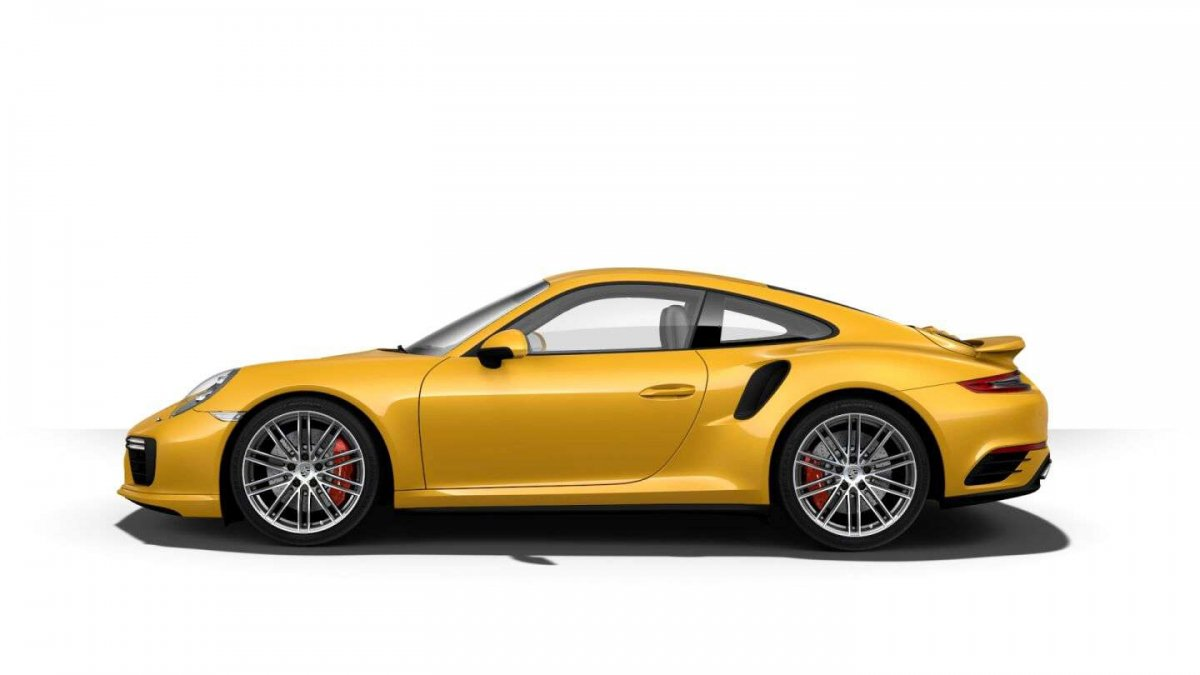 Here S Porsche S Most Expensive Paint So Far Saffron Yellow