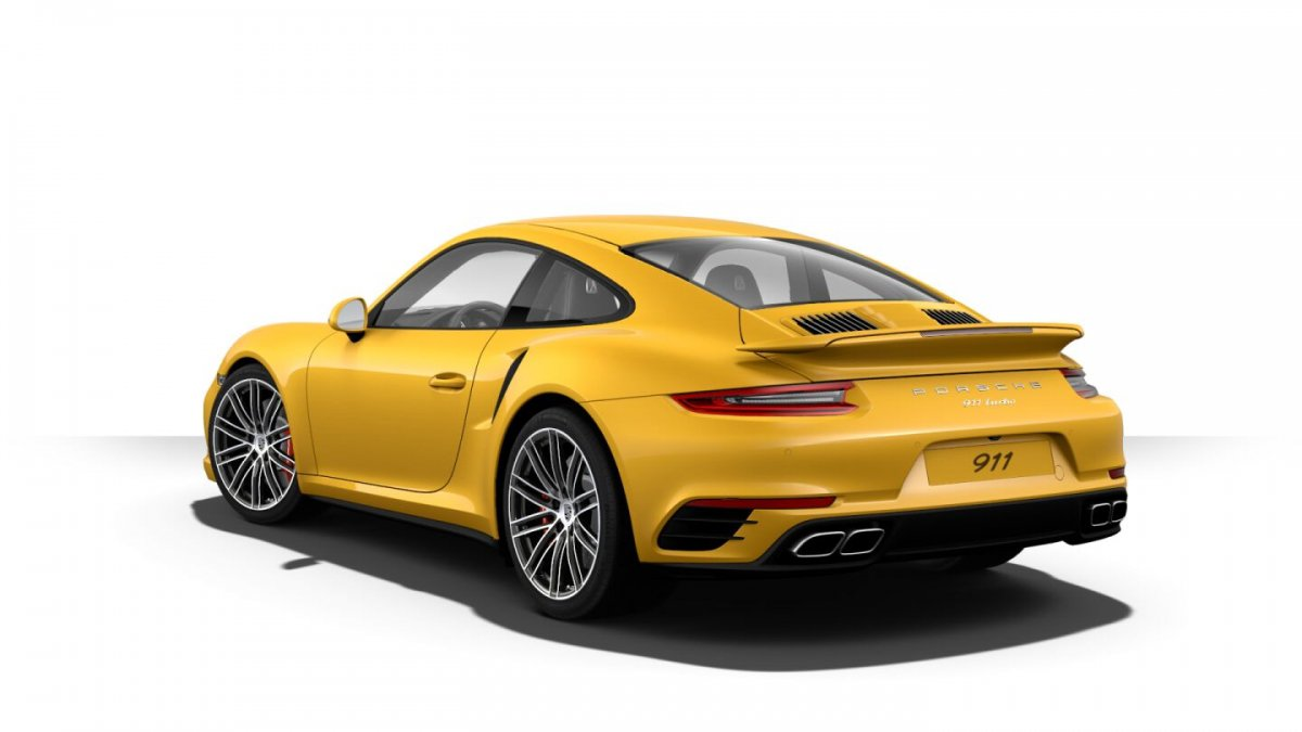 Here S Porsche S Most Expensive Paint So Far Saffron Yellow