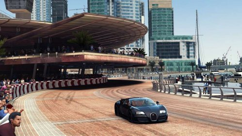 grid autosport on iOS bugatti