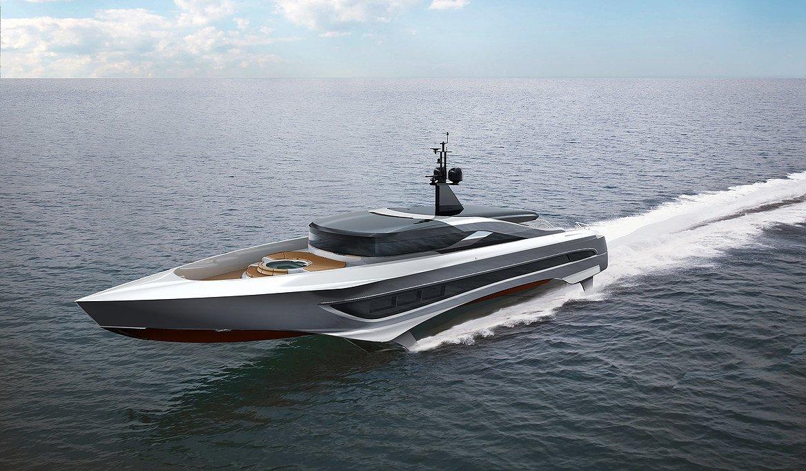 Foiling Superyacht Concept Unveiled By Skripnik Design