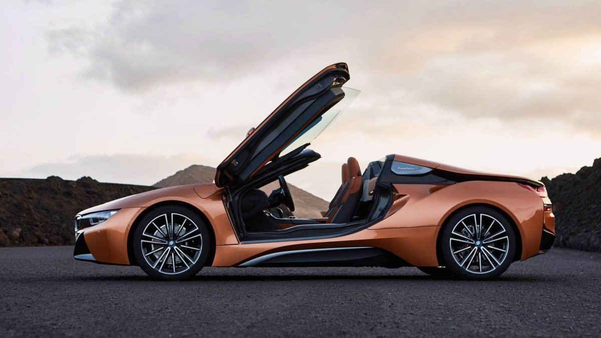 2018 Bmw I8 Roadster Is The Perfect Car For An La Auto Show World Debut
