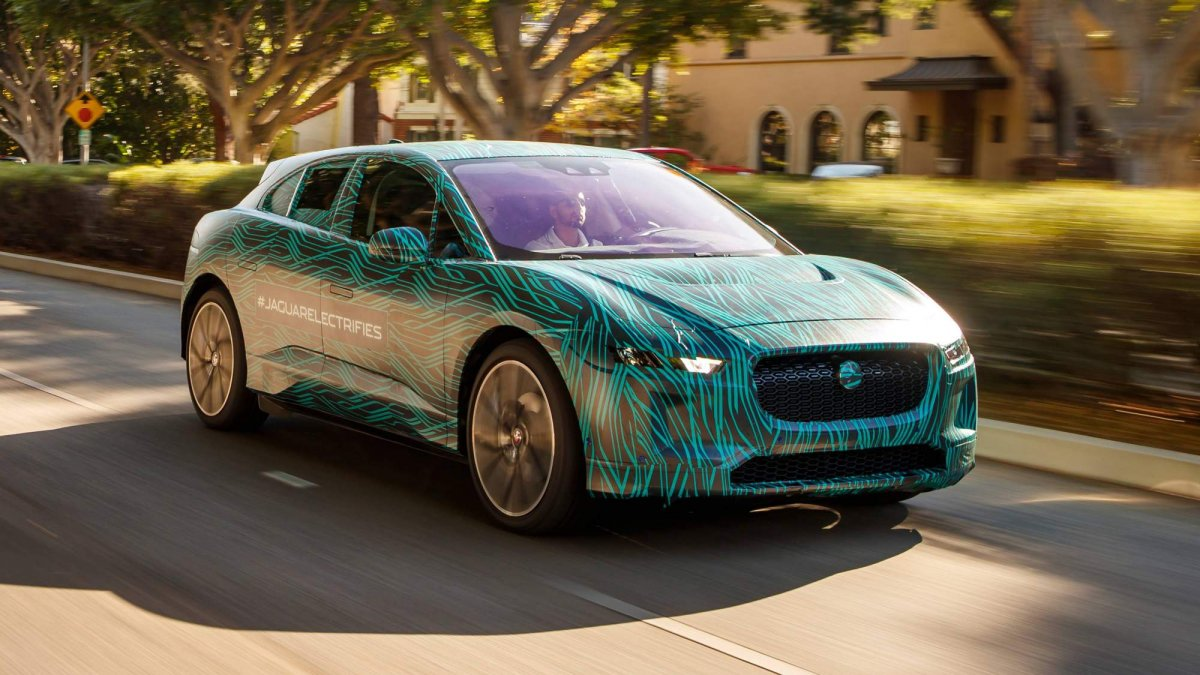 Jaguar I Pace Production Prototype Has Covered 200 Miles