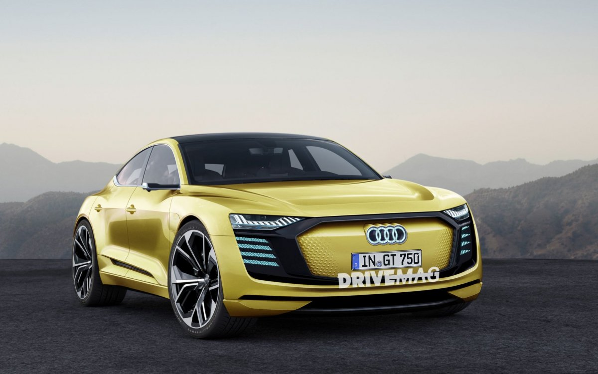 production bound audi e tron gt will look a lot like this. Black Bedroom Furniture Sets. Home Design Ideas