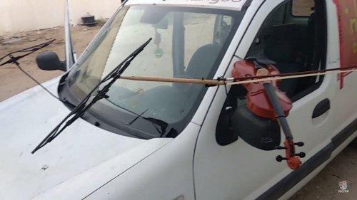car violin
