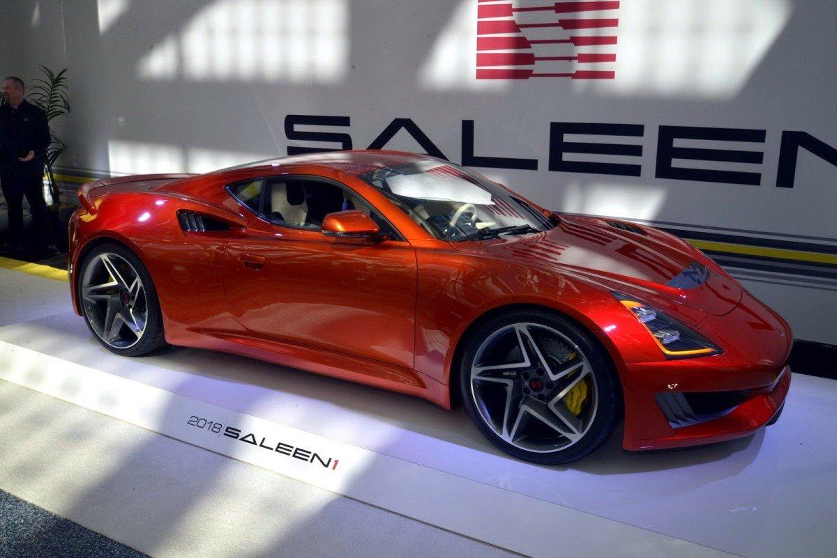2018 Saleen S1 Looks Striking At La Auto Show Debut