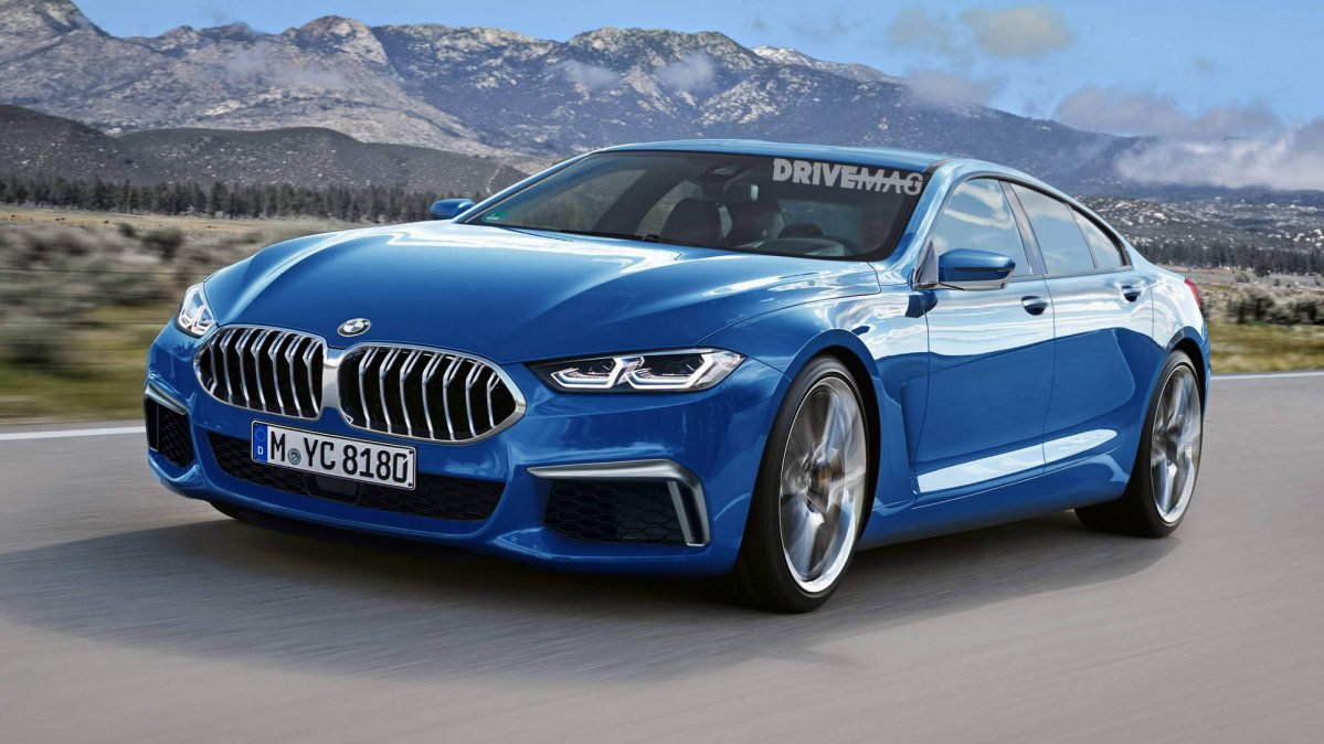 We Imagine The 2019 Bmw 8 Series Gran Coup 233 And 2019 Bmw