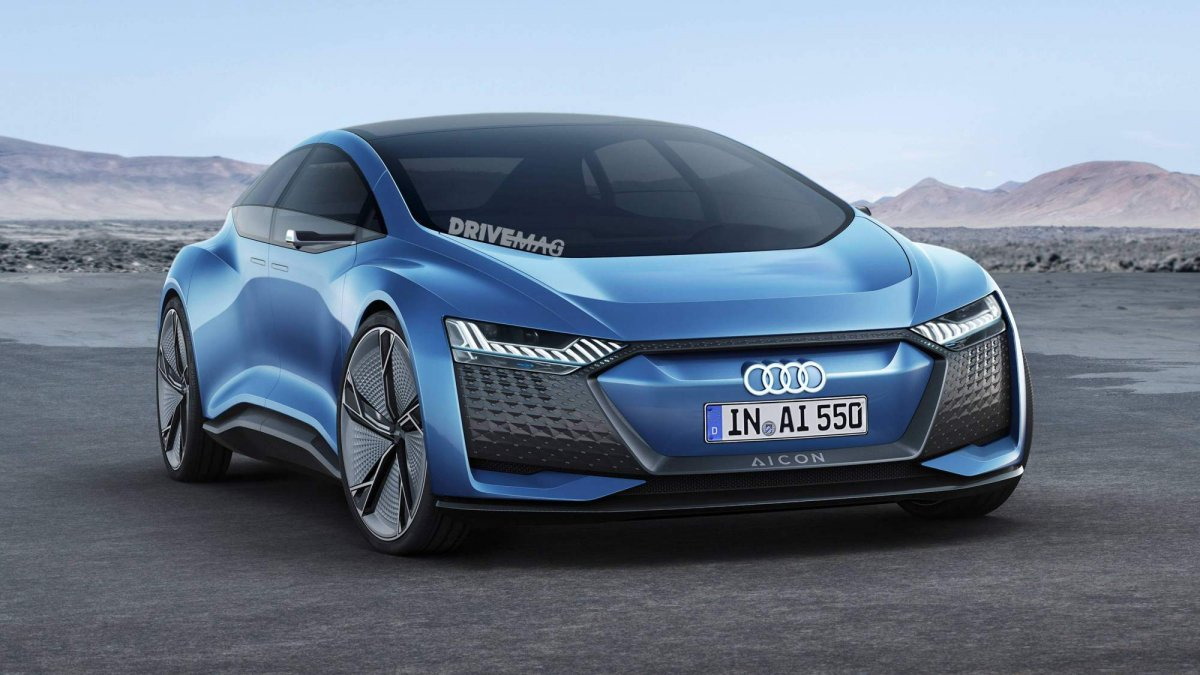 X8 Bmw >> Audi Aicon concept rendered to look like a production model
