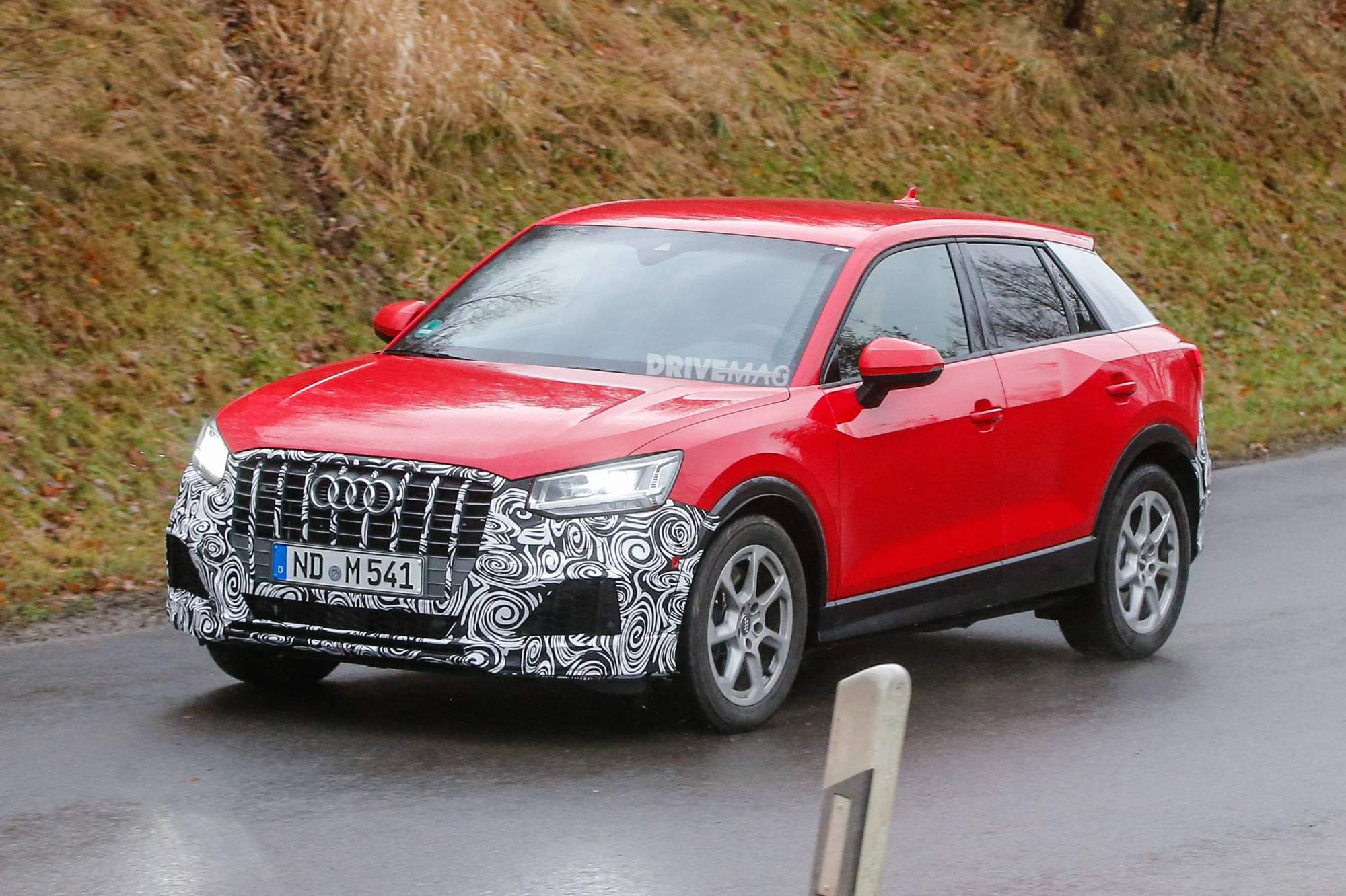 s rear news automobile brand brands three arrives geneva audi show quarter the suv small in smallest as more
