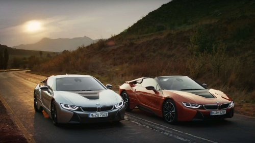 BMW i8 Roadster commercial