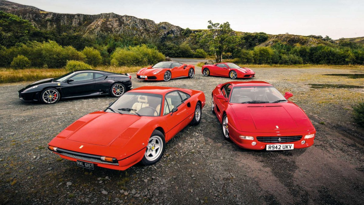 These are the top five best V8 Ferraris ever made