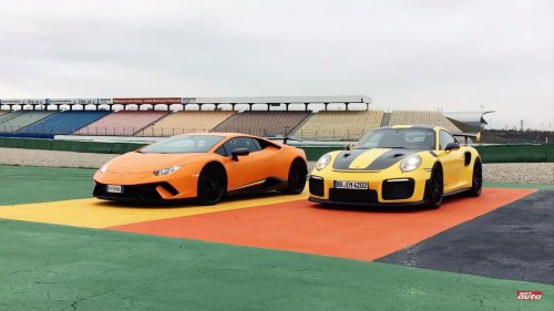 Porsche 911 GT2 RS vs Lambo Huracan Performante